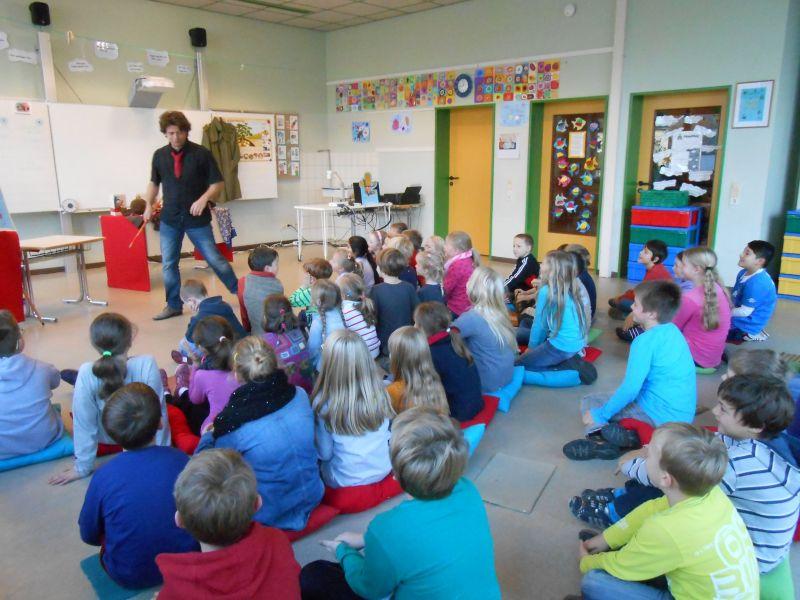 theater mit kindergartenkindern